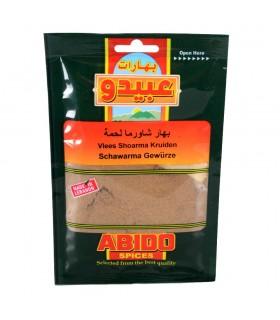 Especias - Shawarma Ternera - Abido - Calidad Garantizada - 50 g