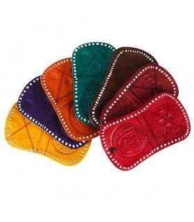Portemonnaie von Hand - gravierte Oasis - 2 Fächer - verschiedene Farben