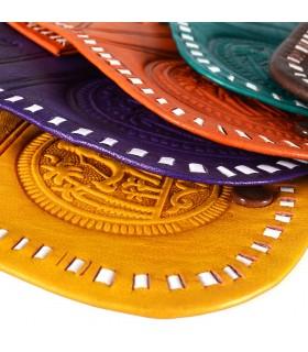 Carterita Monedero - Grabado Oasis - 2 Compartimentos - - Varios Colores