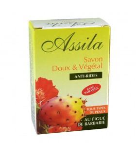 Jabón Vegetal - Antiarrugas - Con Aceite De Higo Chumbo - Todo Tipo De Pieles - 80 g