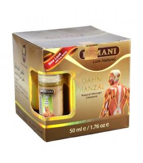 Creme de massagem Narural - Dahn hanzal; - 50 ml + roll-on livre 5 ml