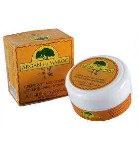 Crema Aceite De Argán - ARGAN DU MAROC - 100% Natural - Anti Edad - Hidratante - 100 ml