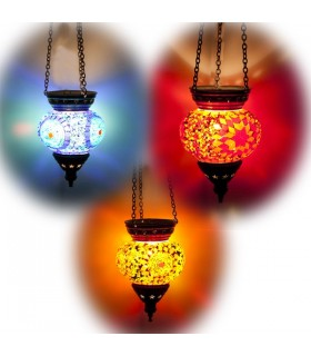 Lâmpadas Turco ( Maftuha) - Vidro Murano - Mosaico