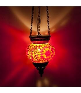 Lampe Türkisch (Maftuha) - Glas Murano - Mosaik