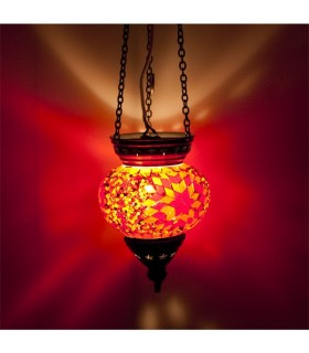 Lampada turco (Maftuha) - vetro Murano - mosaico
