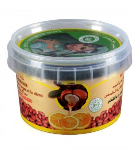 Jabón Beldi Negro - BIO - ZWINE - Aceite De Argán Y Limón - Dulce Y Natural - 250 g