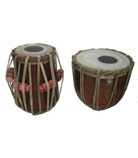 Tablas Indias - Instrumento Percusión Hindú - 2 Piezas - ORIGINAL