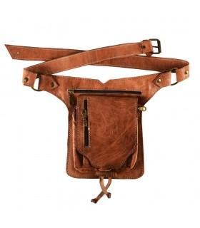 Fanny artisanat - 100 % cuir - grande qualité - 5 compartiments
