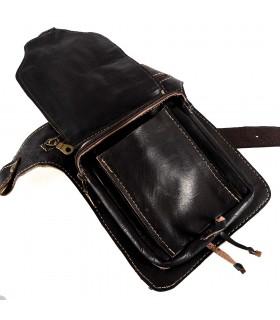 Fanny artesanato - 100% couro - qualidade - 5 compartimentos