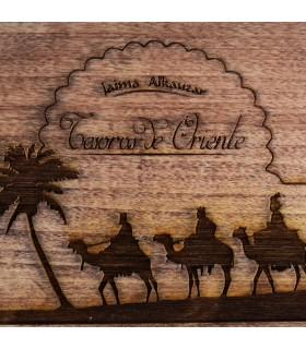 Confezione tesori d'Oriente - Incenso Mirra e oro - include pinzette incensiere e carbonio-