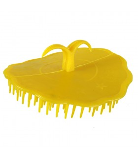 Comb plastic round - special curly hair - Ideal trip - 7'5 cm