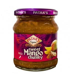 Mangue - PATAK - modérément épicé - 340 g (250 ml) de sauce