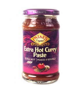 Curry piccante extra - pasta di Curry di India - PATAK - 250 ml