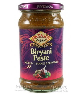 Teigwaren - Salsa Indien - PATAK's Biryani - würzig Moderate - 283 g