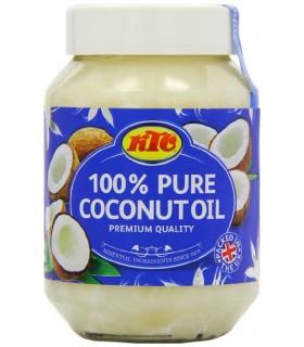 Óleo de coco 100% puro - KTC - 500ml