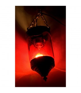 Lampe Glas mit Alpaca - verschiedene Farben - Arabisch - Neuheit