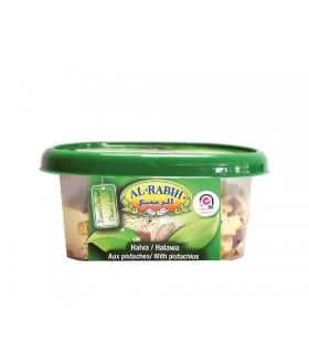 Halawa doux tahiné avec pistache - Al - Rabih - 400 g - délices de la langue arabe - qualité suprême