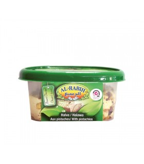 Halawa sweet Tahini with Pistachio - Al - Rabih - 400 g - delight of Arabic - Supreme quality