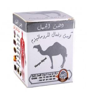 Bálsamo de camelo - óleos naturais - alivia dor-