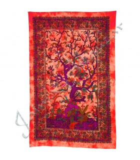 India-Cotton Fabric Tree of Life-Crafts-210 x 140 cm