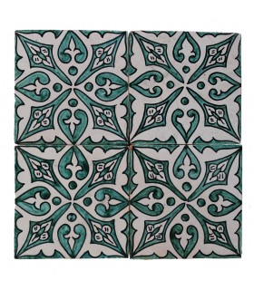 Al-Andalus - 14,5 cm - several designs - handcrafted tile - model 19