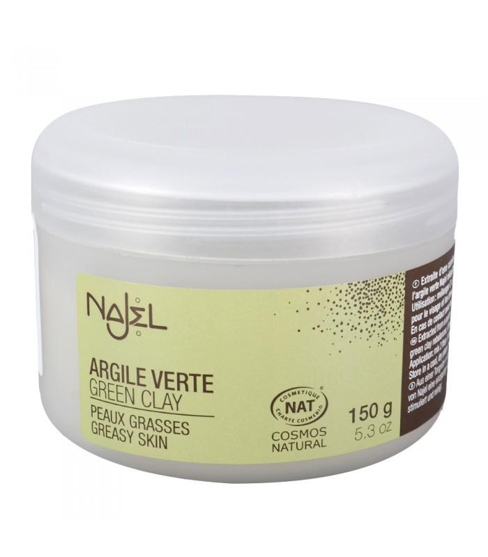 Clay green powder - Natural cosmetics - skin fat - 150 g