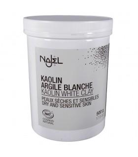 Argile blanche peaux sèches et sensibles à poudre - cosmétiques naturels – - 500g