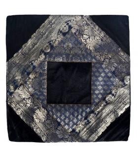 Fino tecido e veludo - almofada projeto 40 cm - várias cores - árabe