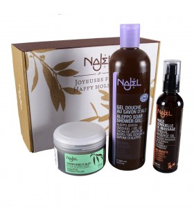 Hammam Ritual Pack - includes SOAP - Gel - oil massage and glove Kessel - preferred