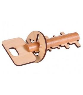 Geheimen Schlüssel - Wit - Jigsaw - Puzzle - 16 cm