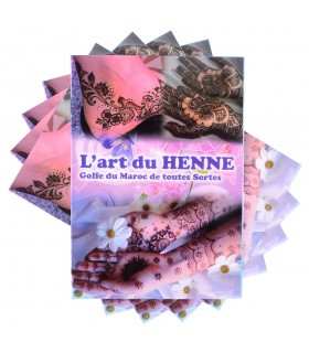 Tatuagem de catálogo Henna - introdução à arte da tatuagem