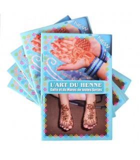 Katalog-Tätowierung Henna - Einführung in die Kunst des Tattoo - Model 2
