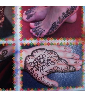 Catálogo Tatuaje Henna - Iniciación Al Arte Del Tatuaje - Modelo 2