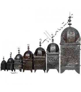Lámpara de Hierro - Forja Calada - Diseño Arabe - 40 cm a 1,7 m