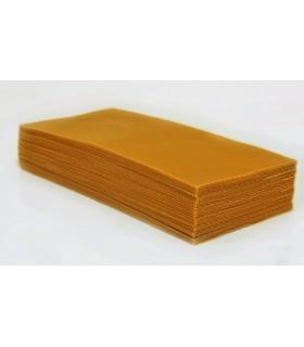 Lámina Cera Natural - Para Velas o Panales de Abejas - 30 x 35 cm