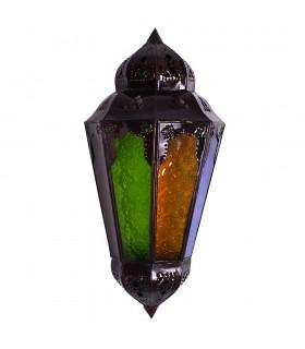 Applicare il pescaggio di vetro a colori