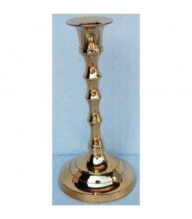 Suporte de vela de bronze pequeno - ondulado