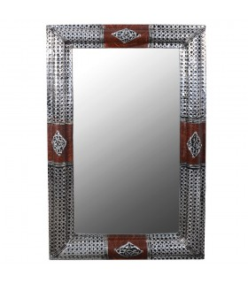 Espejo Árabe - Diseño Tradicional - Elegancia - 95 cm