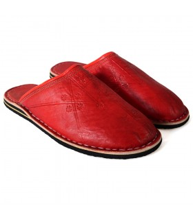 Tip round skin slippers - various colors - NOVELTY