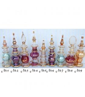 Vidro decorativo artesanal tamanho 2 a 8 cm