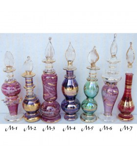 Vidro decorativo artesanal tamanho 3-11 cm