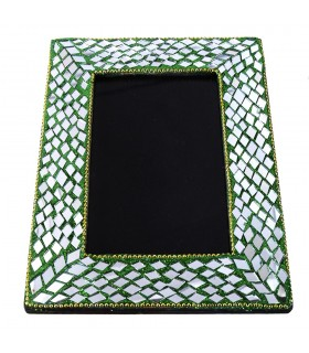Frame for photo - crystals and bright - several colors - 20 cm