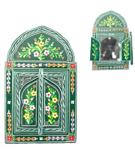 Mirror Andalusí hand - painted various colors - 6 sizes