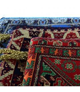 Turco - tela e bordado Kit ouro - 22 cm