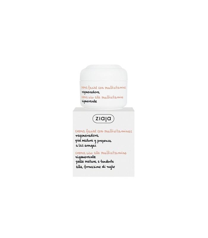 Crema Facial Ziaja - Multivitaminas - Regeneradora - 50 ml