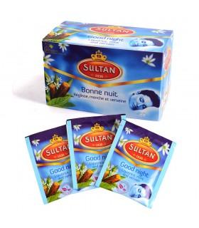 Infusión Good Nigth - SULTAN - Bolsitas de té - 20 Bolsitas