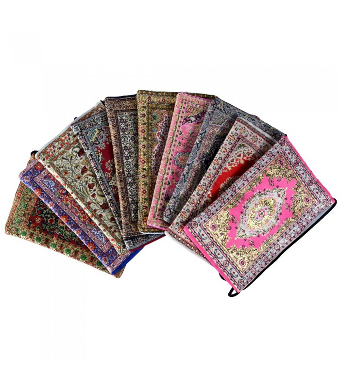 Turkish - fabric and embroidery Kit gold - 22 cm
