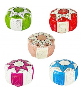 Puff Bicolor - Several Colors - 2 Sizes