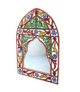 Espejo Andalusi Pintado a Mano - Varios Colores - 29 cm