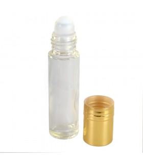 Vidro decorativo - Roll On - 10 ml --de-cabeça-dourada